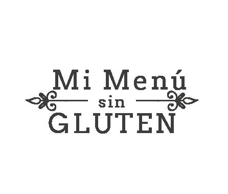 Mi menú sin gluten